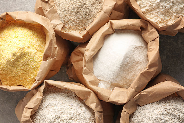 Flour fortification for preventive healthcare